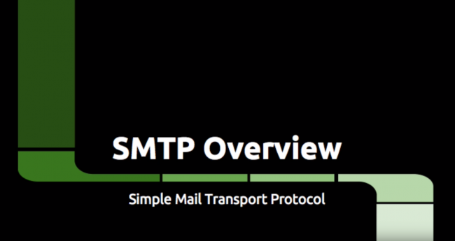 Video: SMTP Overview