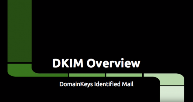 Video: DKIM Overview