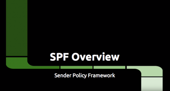 Video: SPF Overview