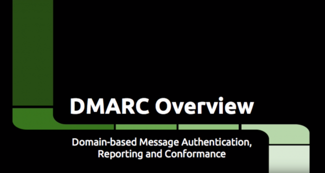 Video: DMARC – Overview