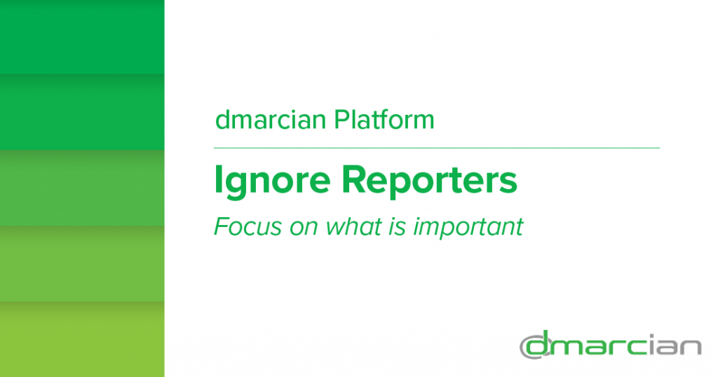Ignore reporters feature image